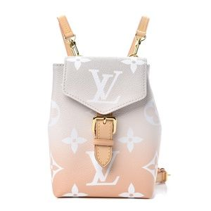MONOGRAM GIANT BY THE POOL TINY BACKPACK MIST